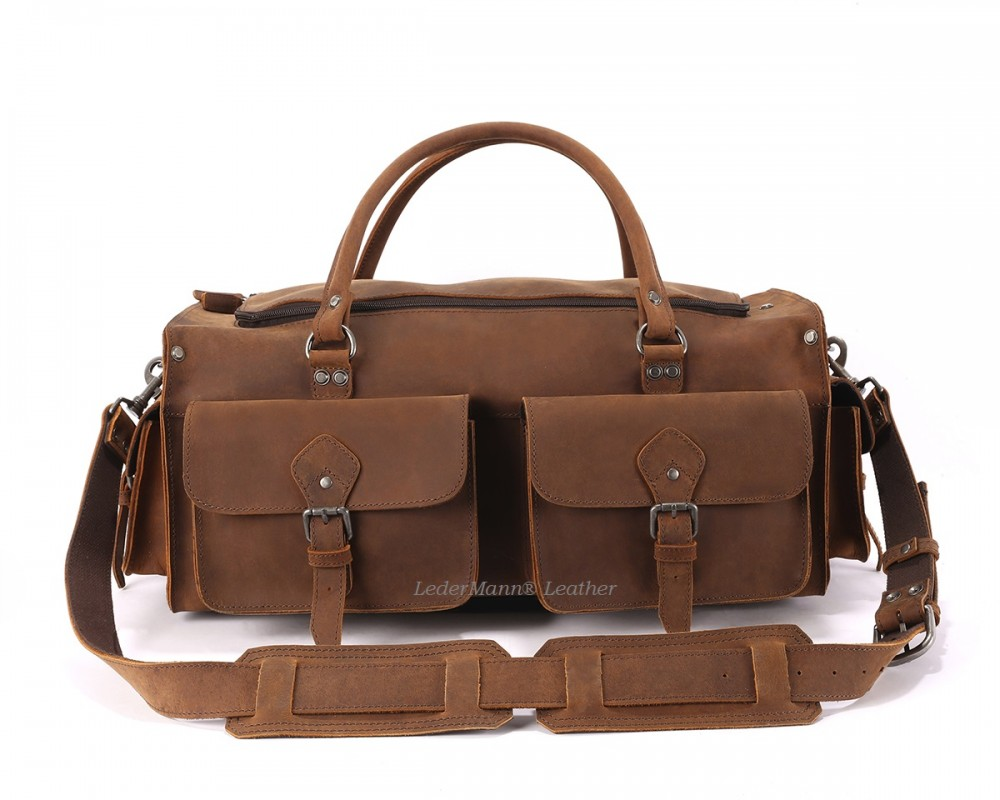 Set F - Briefcase and Travel Bag - Buy Online | LederMann