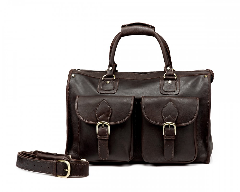 TheCompanion Travel Bag - Dark Brown