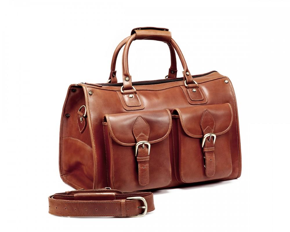 TheCompanion Travel Bag - Light Brown - Buy Online | LederMann