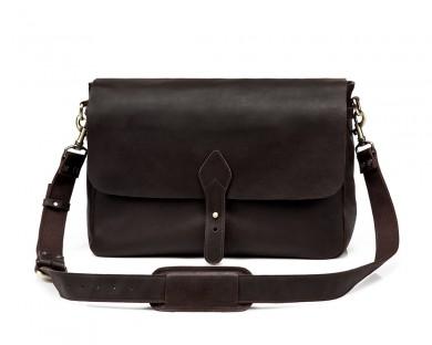 TheCompanion Messenger Bag - Dark Brown