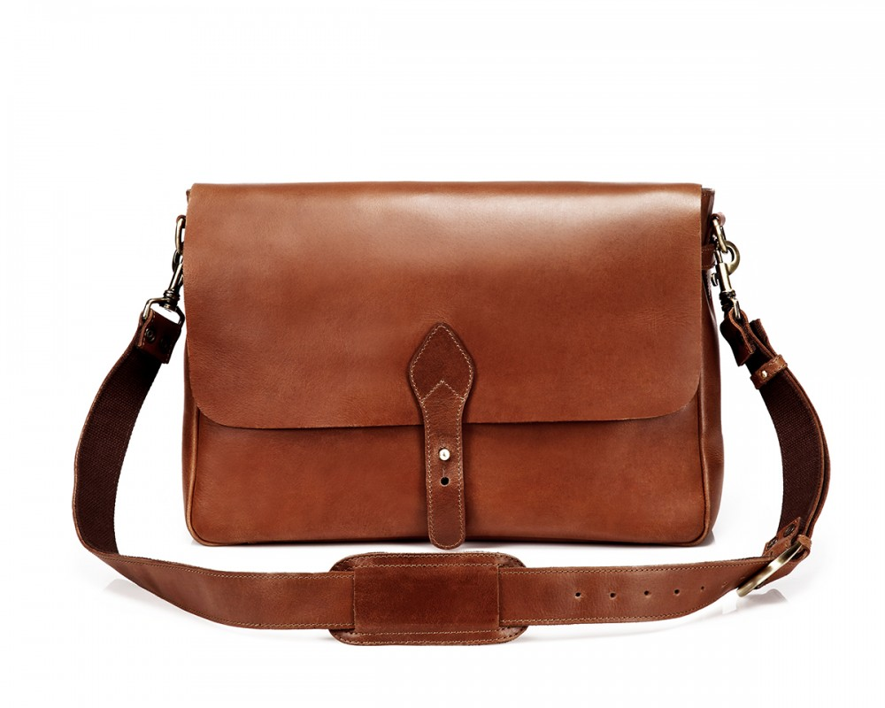 TheCompanion Messenger Bag - Light Brown - Buy Online | LederMann