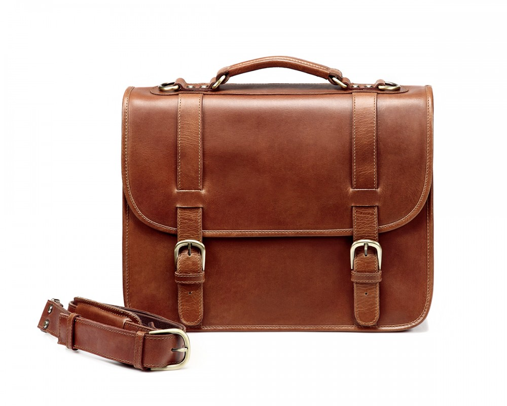 cac930c1d3 TheCompanion Briefcase - Light Brown - Buy Online | LederMann