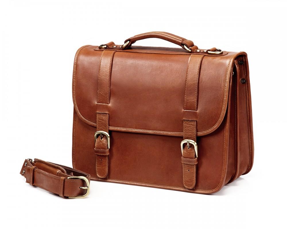 Thecompanion Briefcase Light Brown Buy Online Ledermann