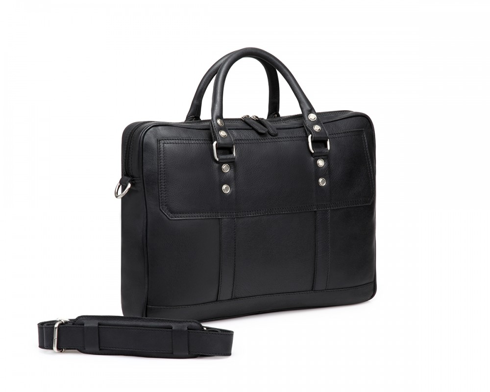 TheCultured Laptop Bag - Black