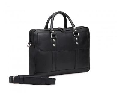 TheCultured Laptop Bag - Black
