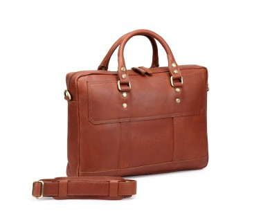 TheCultured Laptop Bag - Tan