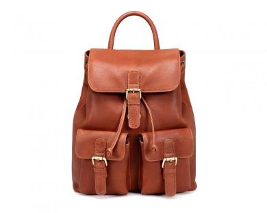 TheCultured Front Pocket Backpack - Tan