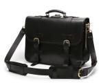 Front Strap Briefcase - Classic Black
