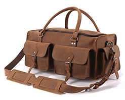 Shop Leather Duffle and Travel Bags