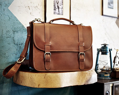 Shop Leather Briefcases for Men